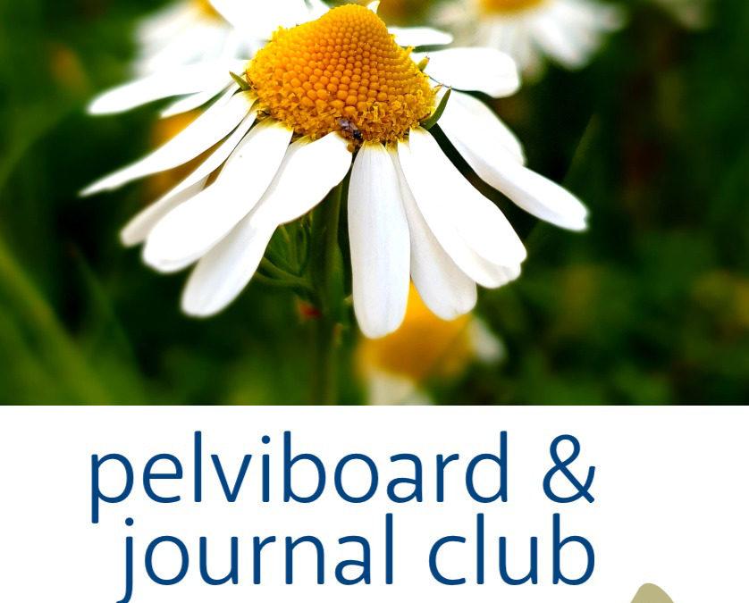 Journal Club et Pelviboard, juin 2020